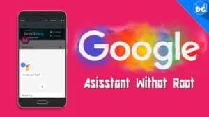 google assistant lollipop