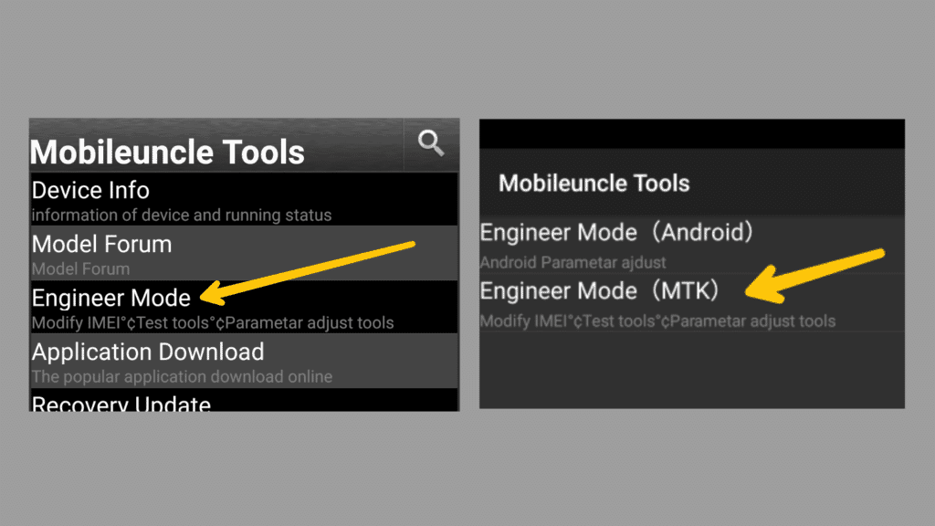 Mobile Uncle tool