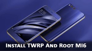 Root and Install TWRP