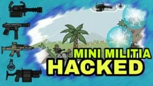 Mini Militia v4.0.11 doodle army 2 hack latest