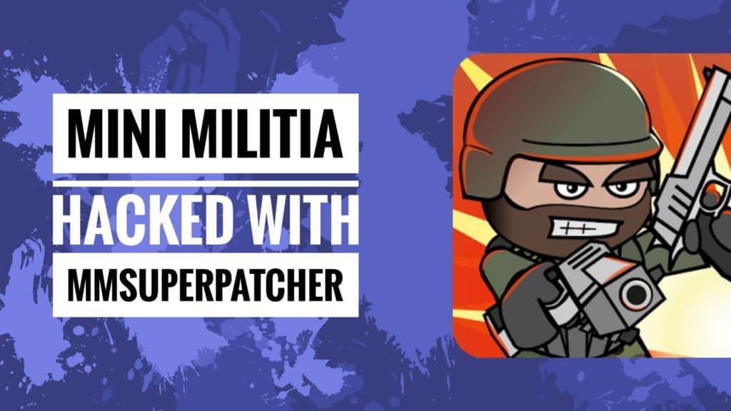 mini militia super patcher