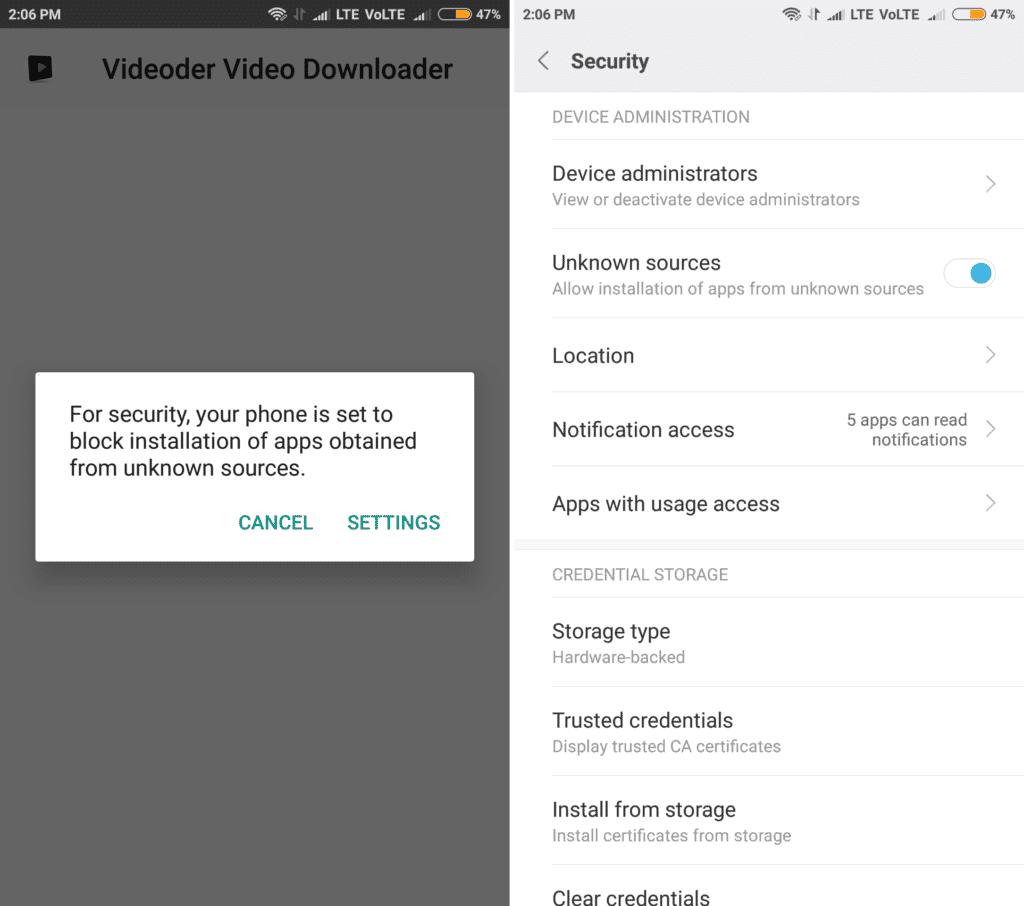 videoder install