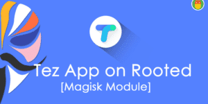 Tez Hider – Run Google Tez on Rooted Android with Magisk Module