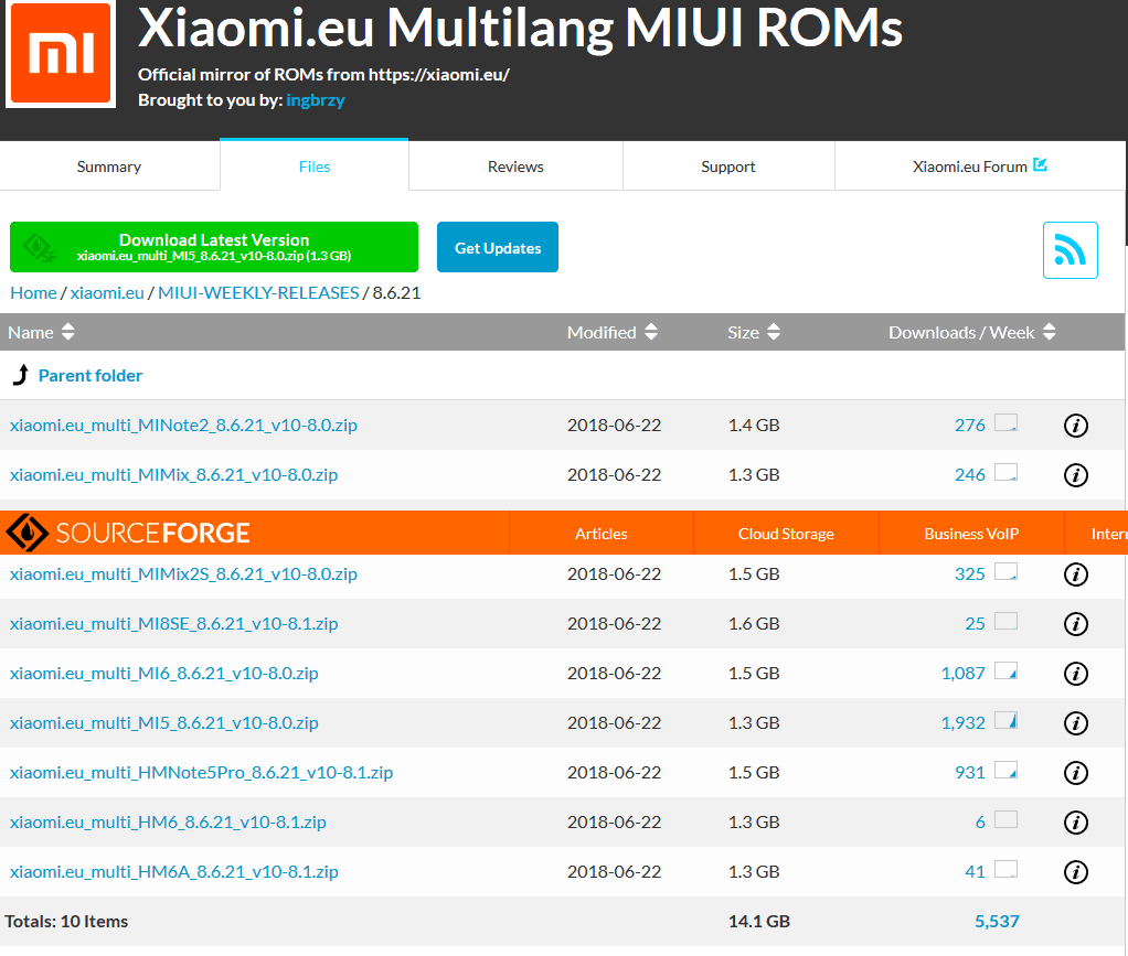 Xiaomi eu MI 5 MIUI 10