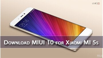 download miui 10 for xiaomi mi 5s