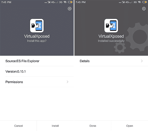VirtualXposed APK - Use Xposed Framework in Non-Rooted Android
