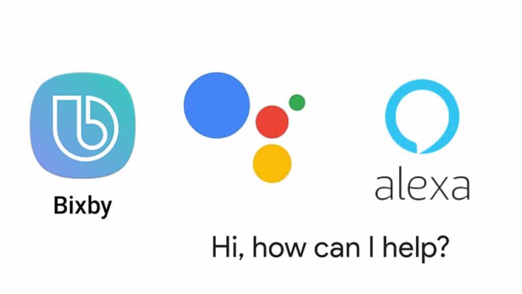Personal Assistant Alexa Bixby Google Assistant