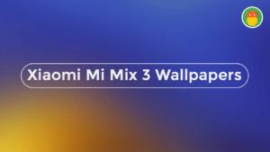 download xiaomi mi mix 3 stock wallpapers